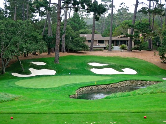 15th green (Jim Hawkins) at Spyglass