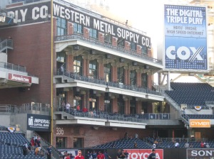 Petco Park's homage to Duplex Field