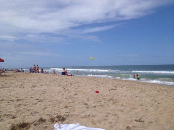 Peaceful beach in Nags Head (Ramada Inn)