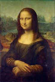 Mona Lisa's iconic smile rumored to be the result of Color Wheel Dementia during rehab of her Camden, NJ row house.