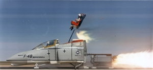 Ejector_seat_test_at_China_Lake_with_F-4B_cockpit_1967
