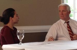 Governor Corbett discusses pension reform in Dresher