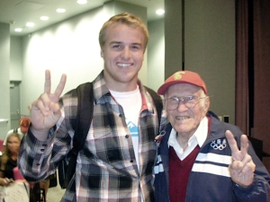 Matt Barkley and Louie Zamperini