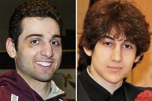 How suspicious did they look before the Boston Marathon bombing?